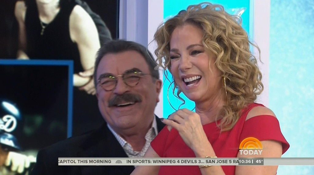 Kathie Lee Gifford, Tom Selleck, Today Show