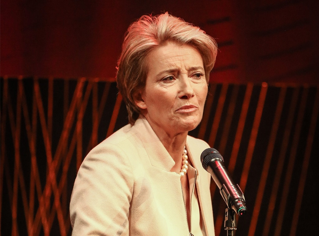 Emma Thompson Threaten...