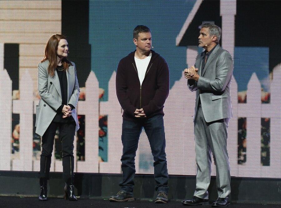 Julianne Moore, Matt Damon, George Clooney, CinemaCon