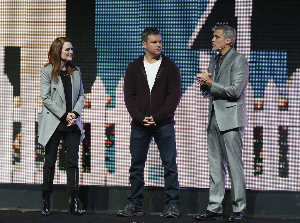 Julianne Moore, Matt Damon, George Clooney, CinemaCon