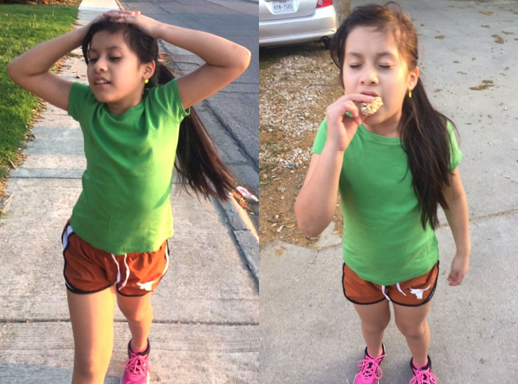 Briseyda Ponce, Girl Eating During Run, Viral