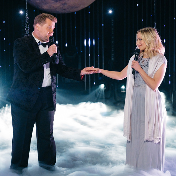 James Corden, Kristen Bell, The Late Late Show