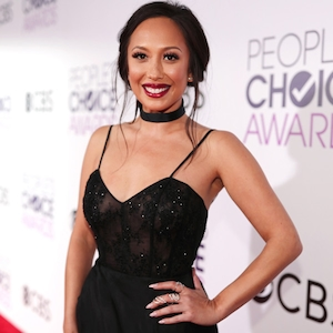 Cheryl Burke, 2017 Peoples Choice Awards