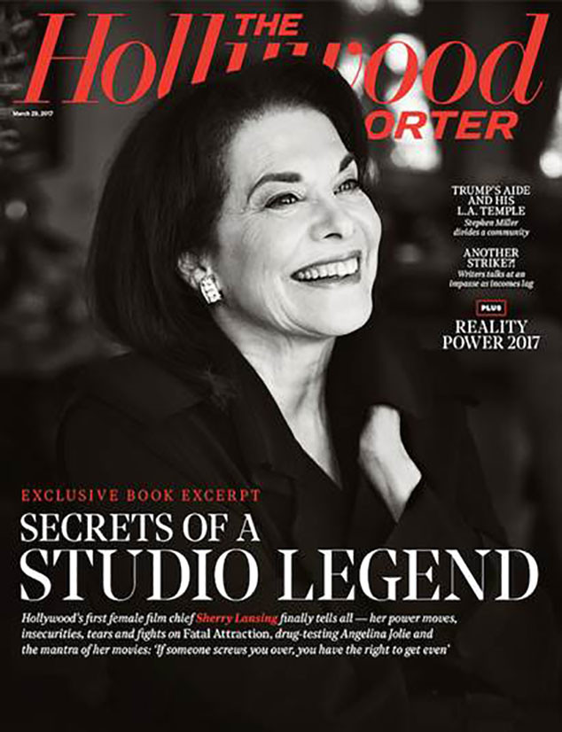 The Hollywood Reporter cover, Sherry Lansing