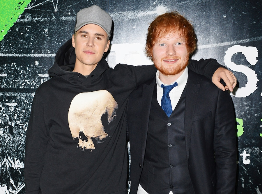 Justin Bieber, Ed Sheeran
