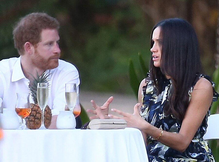 Prince Harry And Meghan Markle Rendezvous In Jamaica For