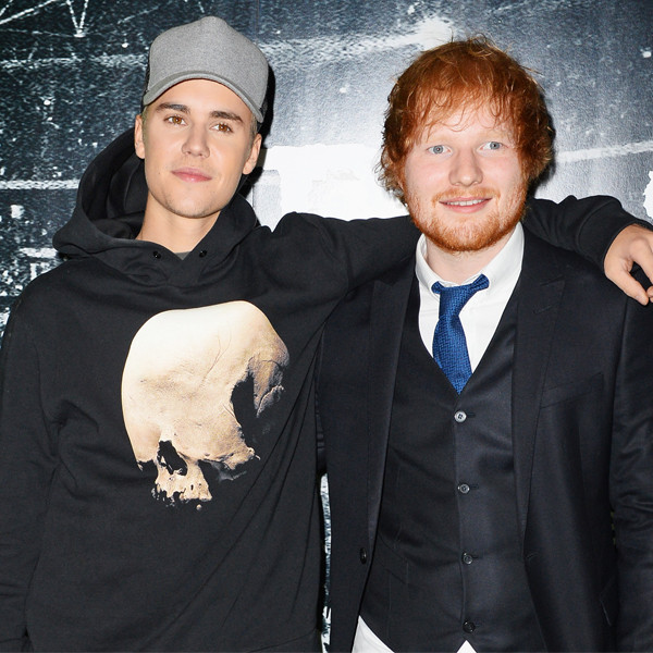 Drunk Ed Sheeran Hit Justin Bieber in the Head With a Golf Club