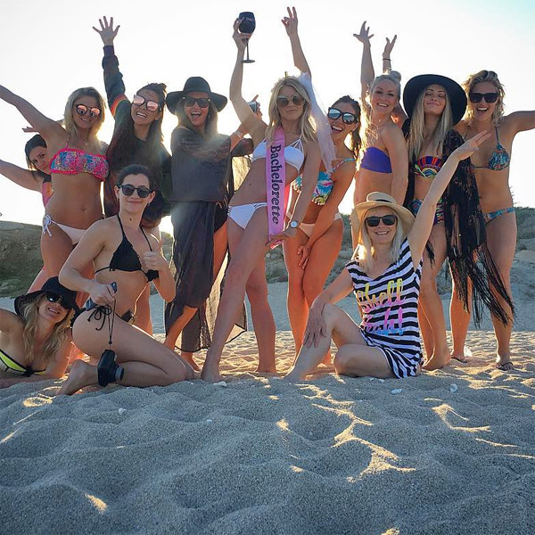 Celebrity Bachelorette Parties