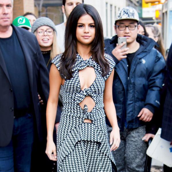 ESC: NYFW Fall 2017, Celeb Street Style, Selena Gomez