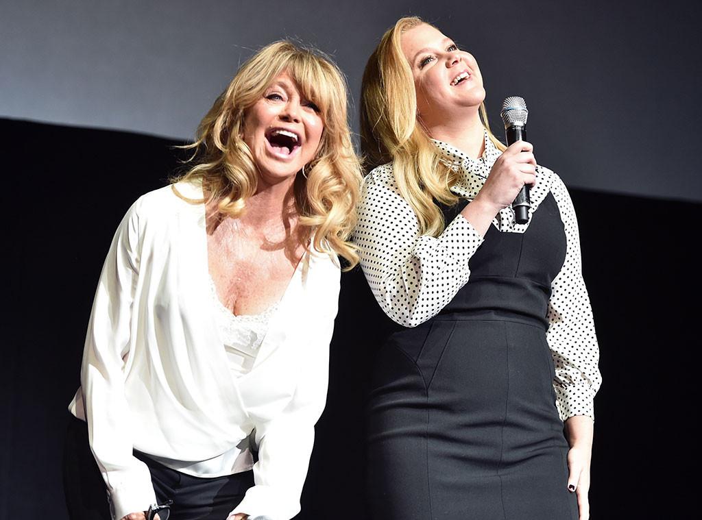 Goldie Hawn, Amy Schumer, CinemaCon, Las Vegas