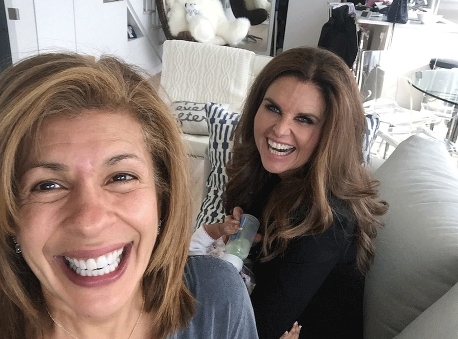 Hoda Kotb, Maria Shriver, Haley Joy