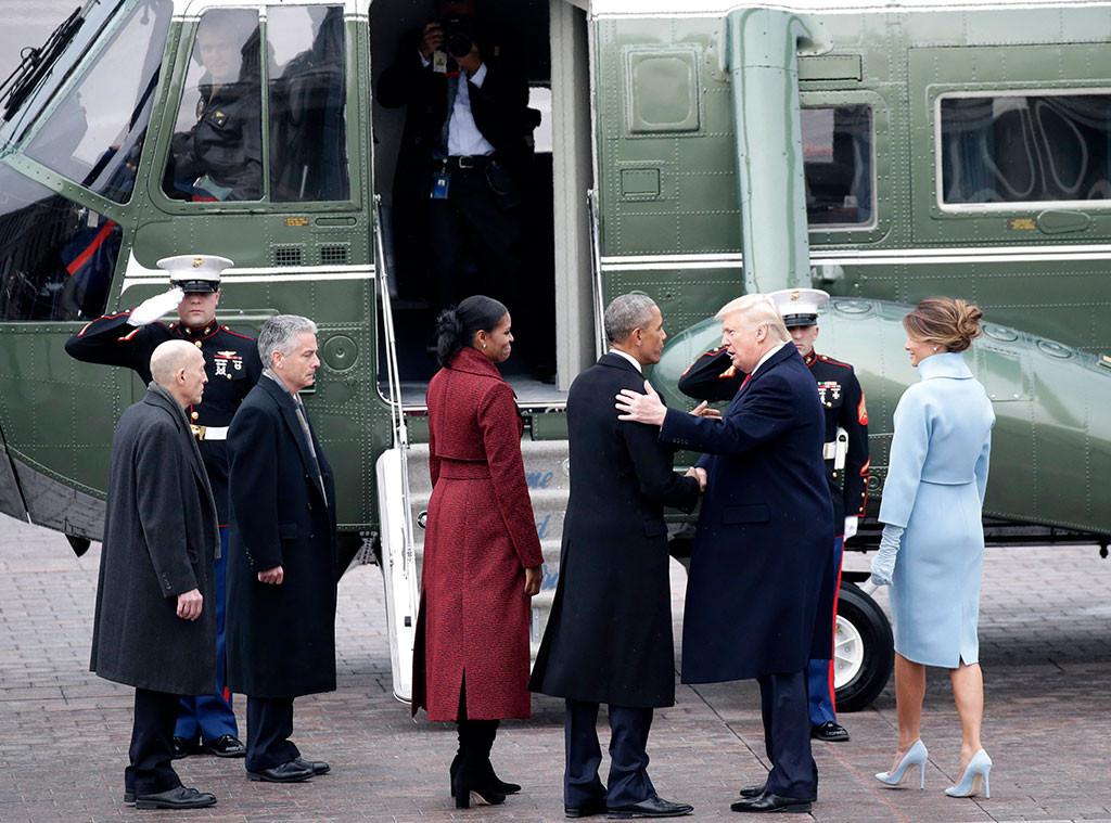 Barack Obama, Michelle Obama, Donald Trump, Melania Trump