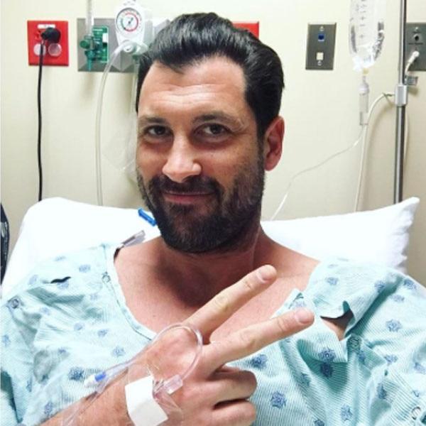 Maksim Chmerkovskiy Snaps Selfie Ahead of Surgery: 'Gettin' Unbroken'