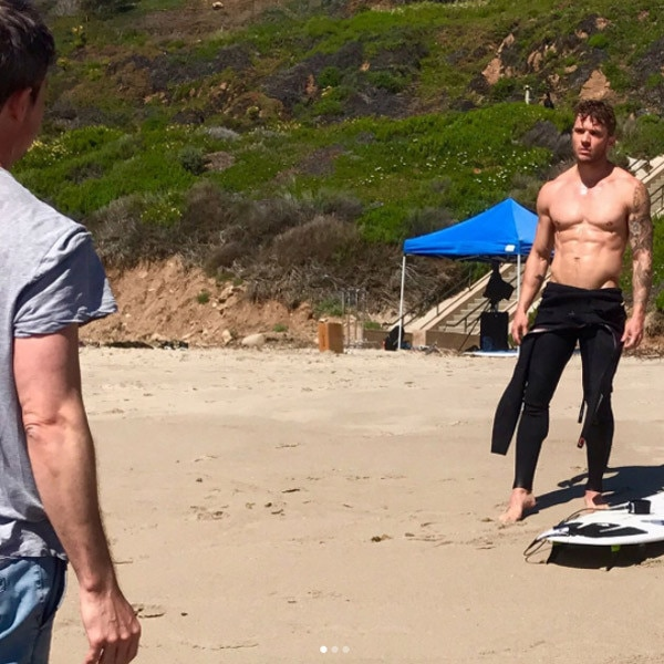 Ryan Phillippe, Instagram