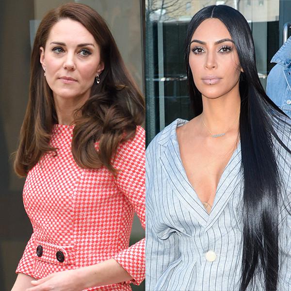 Kate Middleton, Kim Kardashian, Sarah Jessica Parker, Chrissy Teigen, Kristen Bell