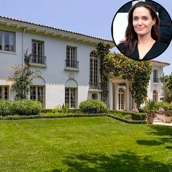 Angelina Jolie, Cecil B. DeMille Estate, Mansion