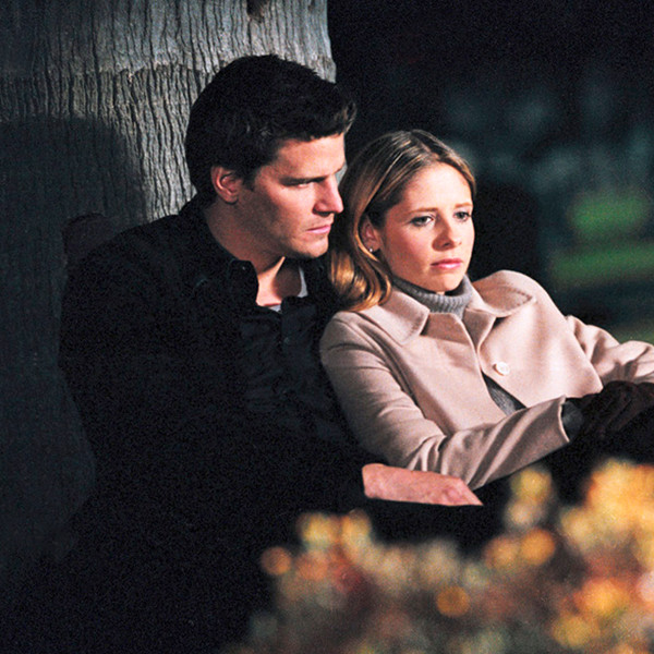 Buffy the Vampire Slayer, Sarah Michelle Gellar, David Boreanaz