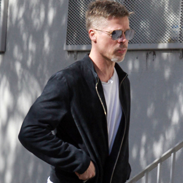 Brad Pitt Steps Out Looking Thinner Amid Angelina Jolie Divorce   E! News