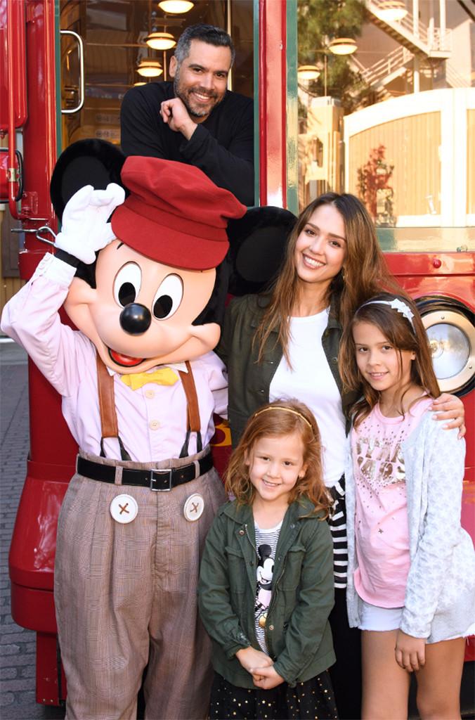 Jessica Alba, Cash Warren, Disney