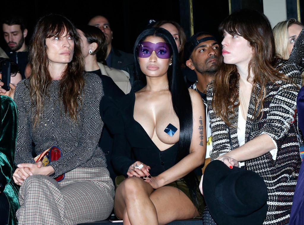 Caroline de Maigret, Nicki Minaj, Lou Doillon