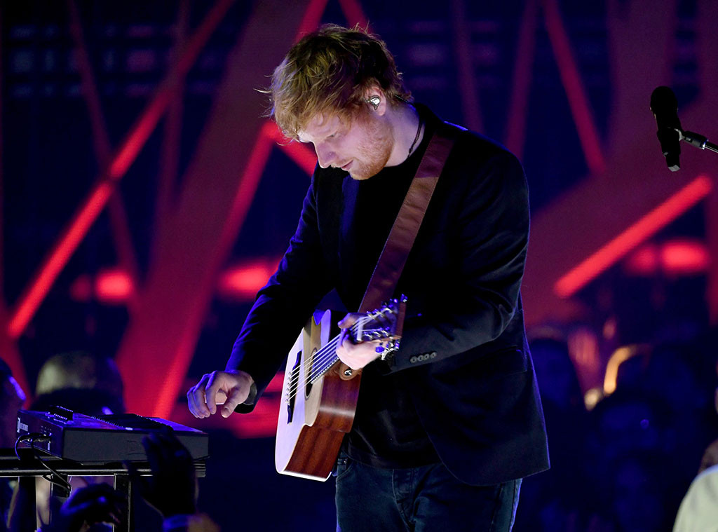 Ed Sheeran, 2017 iHeartRadio Music Awards, Show