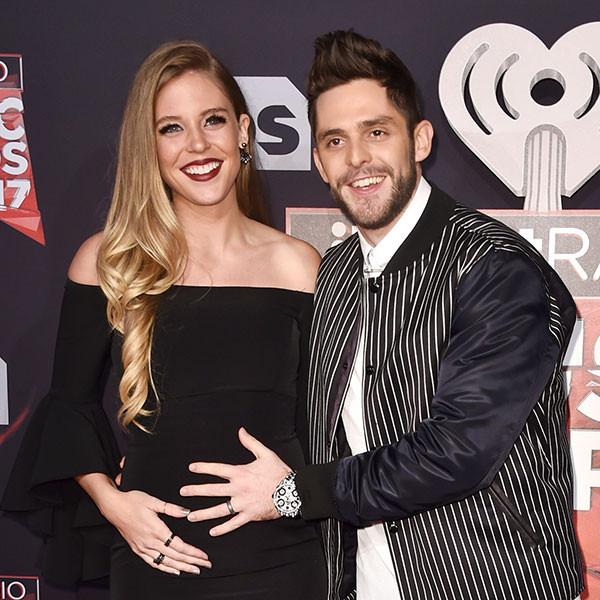 Lauren Gregory, Thomas Rhett, 2017 iHeartRadio Music Awards, Arrivals