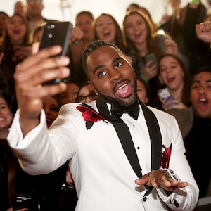 Jason Derulo, 2017 iHeartRadio Music Awards, Candids