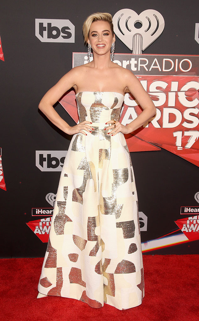 Katy Perry, 2017 iHeartRadio Music Awards, Arrivals