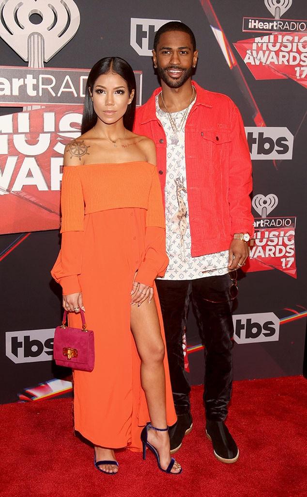 Big Sean, Jhene Aiko, 2017 iHeartRadio Music Awards, Arrivals