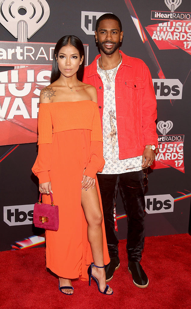 Big Sean, Jhene Aiko, 2017 iHeartRadio Music Awards, Arrivals
