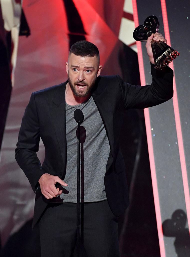 Justin Timberlake, 2017 iHeartRadio Music Awards, Winners