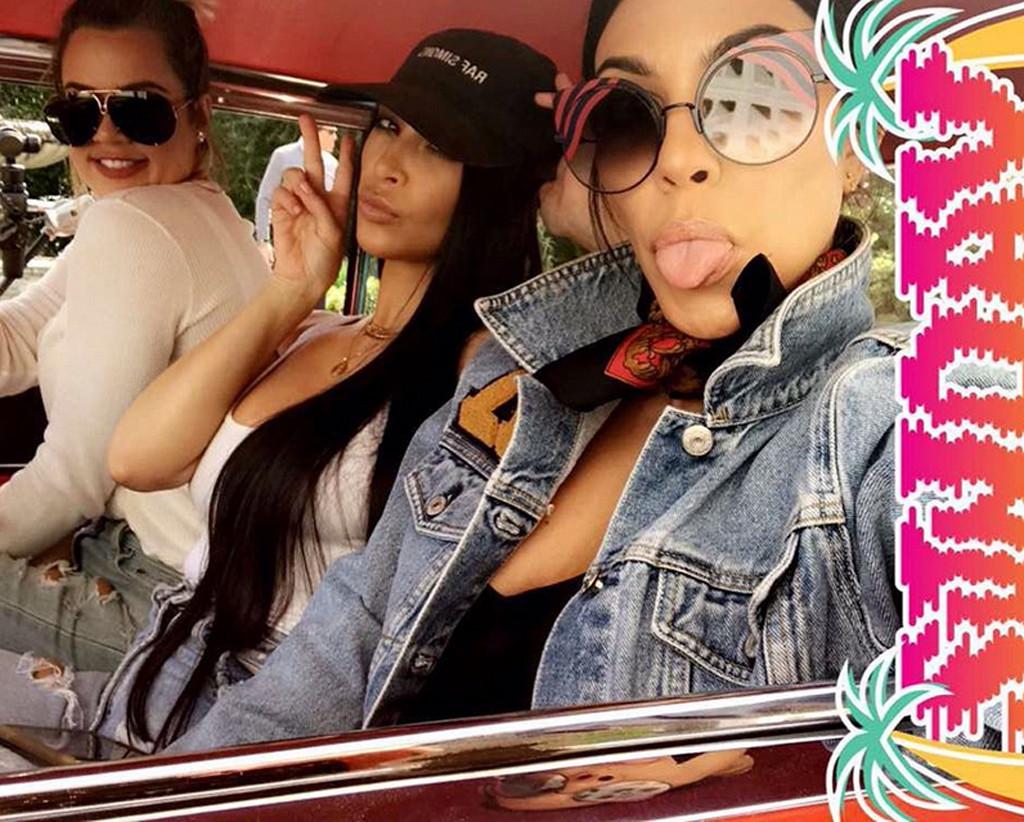 Khloe Kardashian, Snapchat