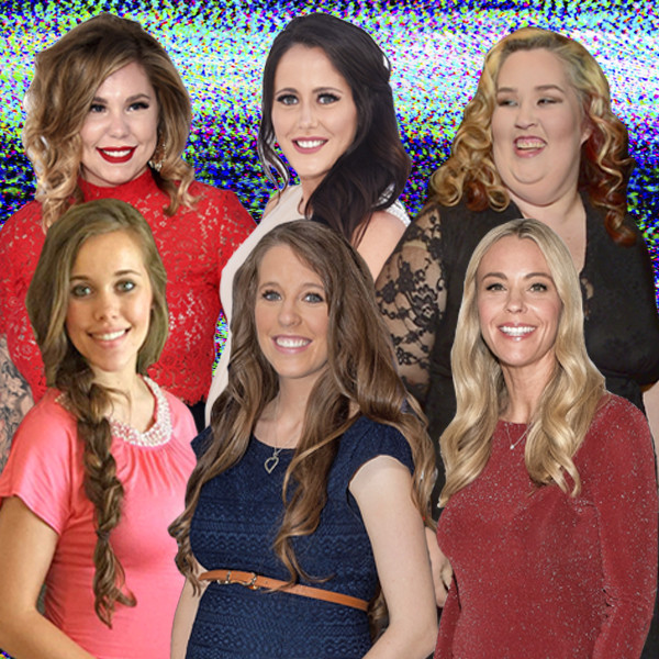 Trashy Reality TV, Kailyn Lowery, Jenelle Evans, Mama June, Jessa & Jill Duggar and Kate Gosselin