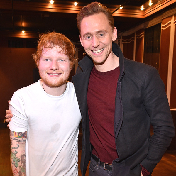 Tom Hiddleston, Ed Sheeran