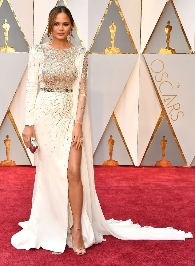 Chrissy Teigen, 2017 Oscars, Academy Awards, Arrivals