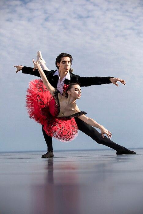 2017 Gala de Danza, Cesar Corrales, Juliette Bosco