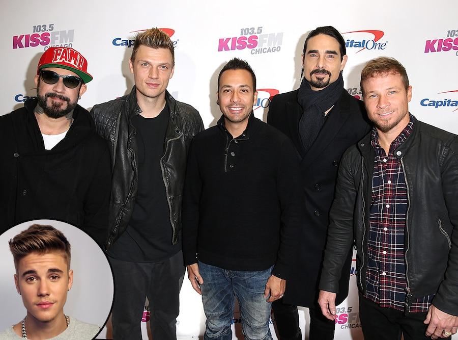 Backstreet Boys, Justin Bieber