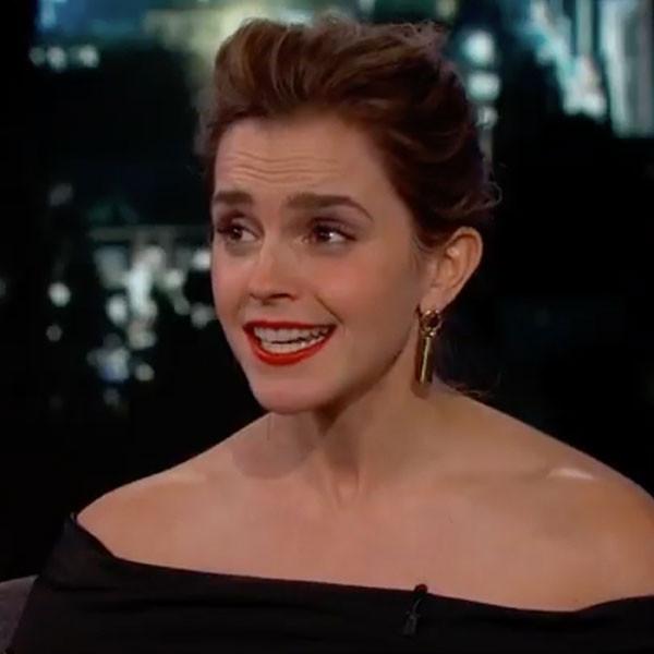 Emma Watson, Jimmy Kimmel Live