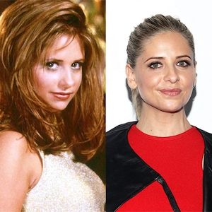 Buffy the Vampire Slayer then and now, Sarah Michelle Gellar
