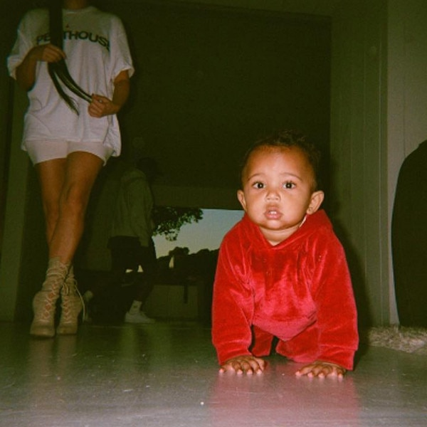 Saint West, Instagram