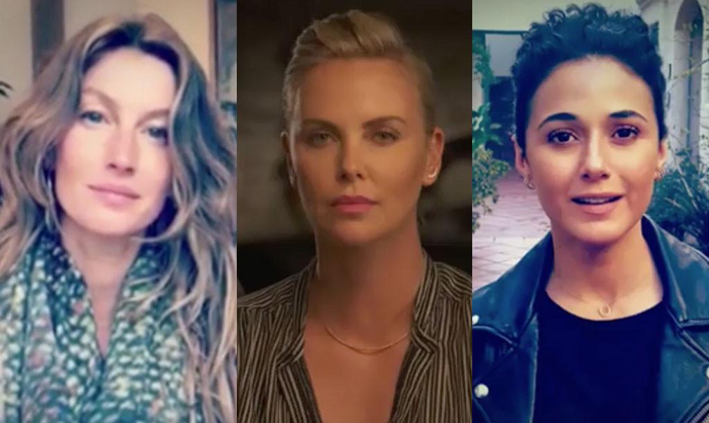 Gisele Bundchen, Charlize Theron, Emmanuelle Chriqui