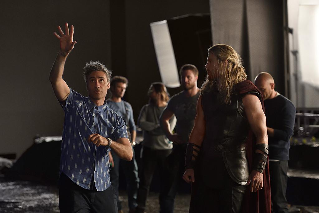 Taika Waititi, Chris Hemsworth, Thor Ragnarok