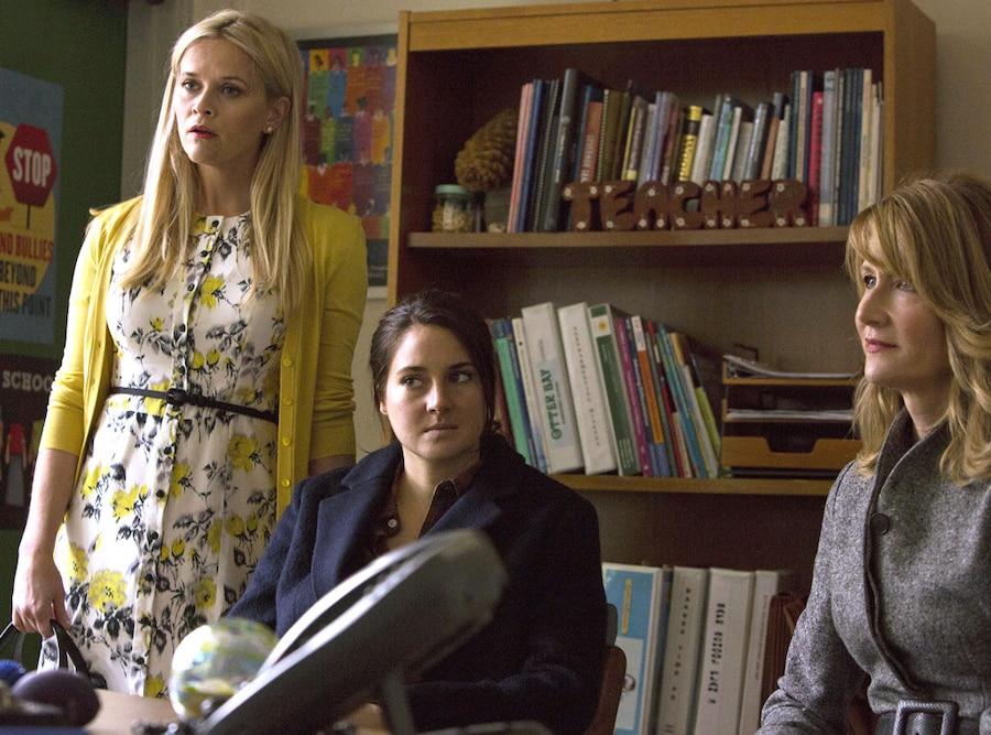 Big Little Lies, Reese Witherspoon, Shailene Woodley, Laura Dern