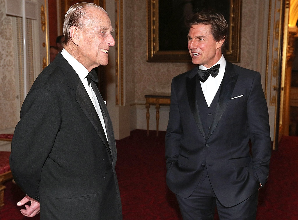 The Duke of Edinburgh, Tom Cruise