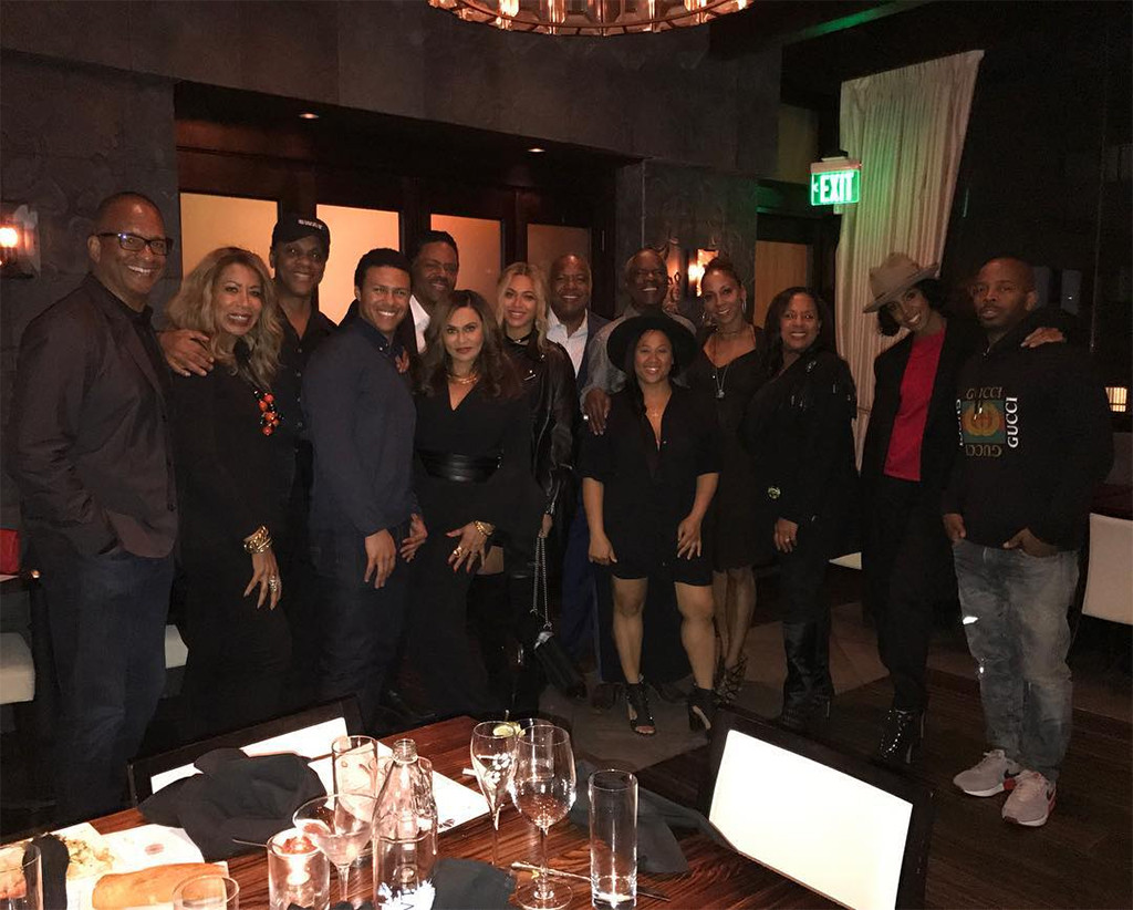 Beyonce, Tina Knowles, Dinner