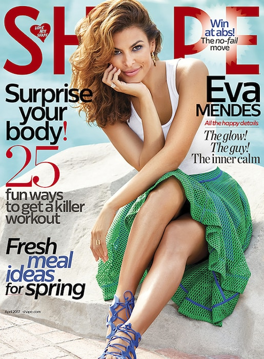 Eva Mendes, Shape