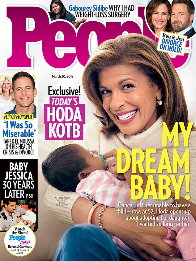 Hoda Kotb, People Magazine
