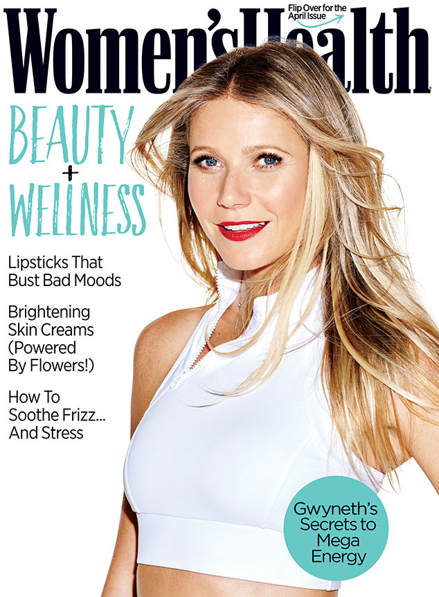 Gwyneth Paltrow, Women's Health, April Issue
