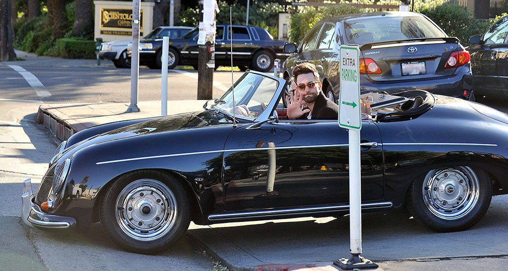 & Harrison Ford from Stars in Vintage Cars   E! News markmcfarlin.com
