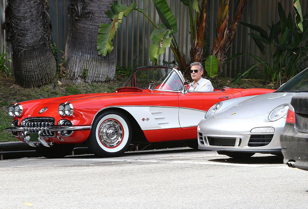 George Clooney, Stars Vintage Cars